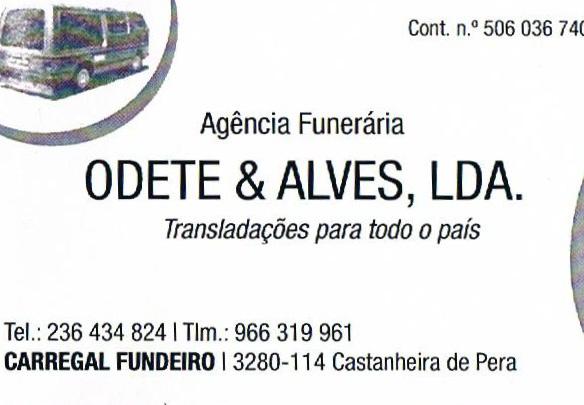 Ag. Odete e Alves