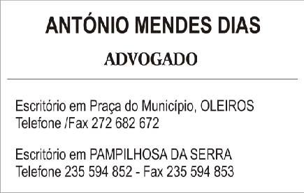 António Mendes Dias Advogado