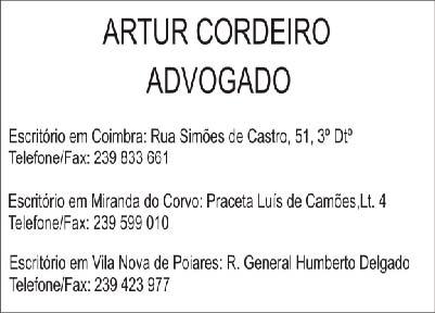 Artur Cordeiro Advogado