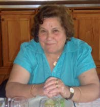 A colaboradora Arminda Frade