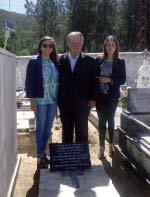 Fernando C. Bernardo, (ao centro), Francisca Correia (à esquerda) e Manuela Freire (à direita)