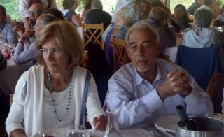 O colaborador Dr. Fernando Figueiredo e sua esposa