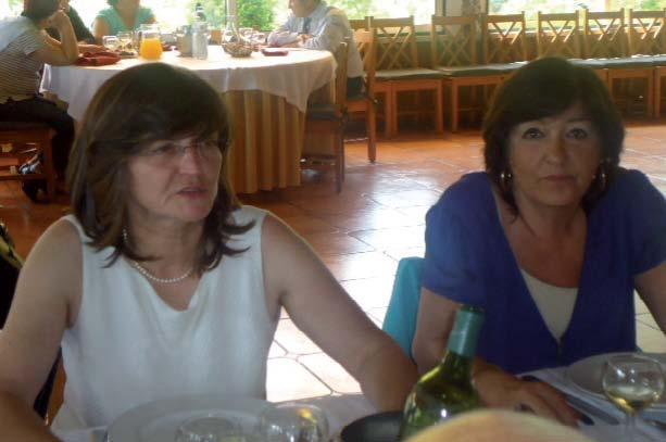 Filha do Diretor, Alda Correia e vice-presidente autarquia Dr.ª Ana Paula