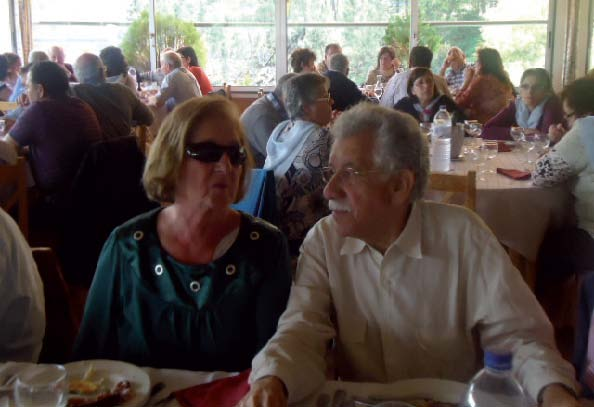 Kalidás Barreto e sua esposa