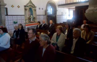 Celebração da missa em honra de Dr. Manuel Diniz Henriques