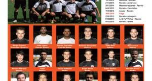 Recreio Pedroguense – Equipa de Futebol 11 – Seniores – Época 2014 – 2015