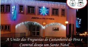 Boas Festas: União das Freguesias de Castanheira de Pera e Coentral