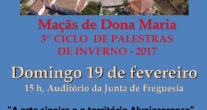 Maçãs de Dona Maria – 3º Ciclo de Palestras de Inverno 2017
