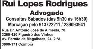 Rui Lopes Rodrigues – Advogado