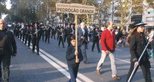 1º Dezembro – Filarmónica Pedroguense desfilou na Avenida da Liberdade (Lisboa) com o apoio da Autarquia Pedroguense