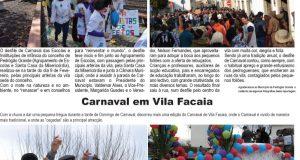 Desfile de Carnaval em Pedrógão Grande – Carnaval em Vila Facaia