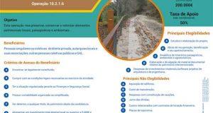 Portugal 2020 – Programa Renovação de Aldeias: Decorre até ao dia 1 de Junho a apresentação de candidaturas.