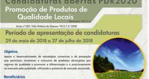 Pinhais do Zêzere: Candidaturas abertas PDR2020 – Promoção de Produtos de Qualidade Locais