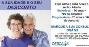 Opticália – A sua idade é o seu desconto