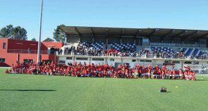Etapa da Liga Centro das Escolas de Futebol Benfica teve lugar em Pedrógão Grande