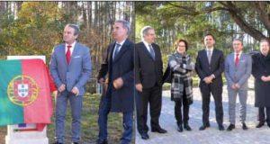Ministro Pedro Marques inaugurou o Parque do Vale da Pipa