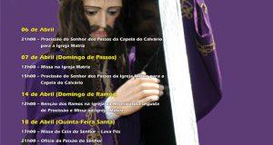 Pedrógão Grande – Passos e Semana Santa – Programa