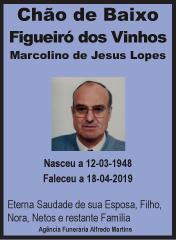 Faleceu – Marcolino de Jesus Lopes