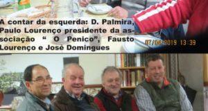 Grupo de amigos de Miranda do Corvo confraternizam, desta vez em Alge, freguesia de Campelo