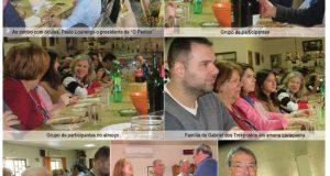 """Direcção da Associação Recreativa e Cultural """"O Penico"""" de Alge organizou o almoço da Páscoa"""