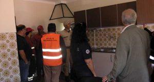 Alojamento para bombeiros e vigilantes no Coentral