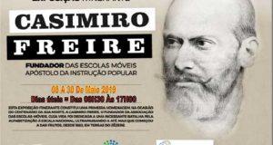 """""""Casimiro Freire, Fundador das Escolas Móveis eApóstolo da Instrução Popular"""""""