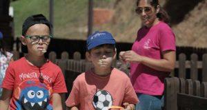 """""""Gincando na Praia"""" juntou 55 crianças e jovens"""