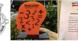 Alunos da Escola Básica da Graça vencem Concurso de Matemática em Leiria