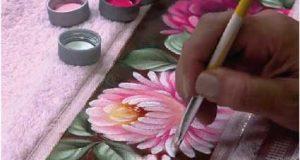 Figueiró dos Vinhos: Workshop Pintura em Tecido