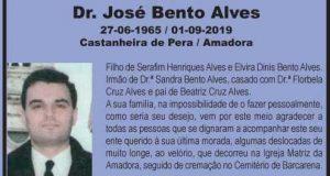 Faleceu: Dr. José Bento Alves