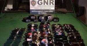 GNR apreende material contrafeito no valor de 3 mil euros