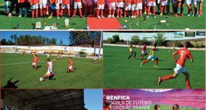 Festa do Desporto no Estádio Municipal S. Mateus  Benfica Escola de Futebol Pedrógão Grande apresentou nova época