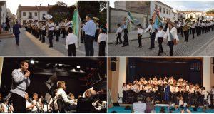 Mais de 60 músicos em palco na celebração do 156º aniversário da Filarmónica Pedroguense