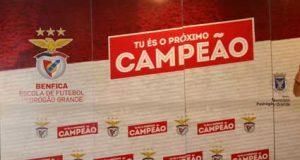 Benfica Escola de Futebol de Pedrógão Grande em jantar de Natal