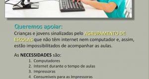 COVID-19: Aulas para Todos – Iniciativa das Paróquias de Castanheira de Pera e Coentral, Campelo e Vila Facaia