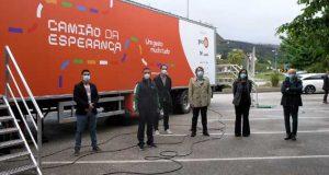 """Castanheira de Pera: COVID-19: """"Camião da Esperança"""" fez testes em Castanheira de Pera. Todos foram negativos."""