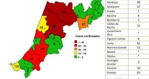 Distrito sem novos casos há uma semana: COVID-19 – Ponto da Situação do Distrito de Leiria – Informação do CDOS – Leiria. Informação válida em: 15-05-2020 00:05