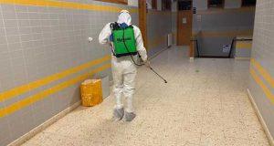 Pampilhosa da Serra: COVID-19: Regresso às aulas – Escola Sede recebeu operação de desinfeção