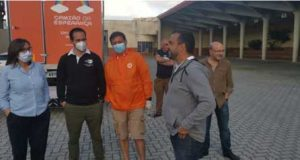 Presidente da CM de Castanheira de Pera despediu-se do Camião da Esperança