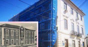 Figueiró dos Vinhos: Câmara Municipal recupera as cores originais do edifício e das janelas