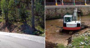Pampilhosa da Serra: Começaram as obras na Estrada entre Esteiro e Janeiro de Baixo