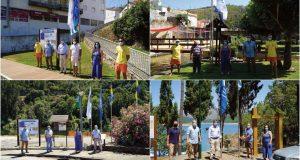 """Pampilhosa da Serra: Hastear simbólico das bandeiras """"Azul"""" e """"Ouro"""" nas praias classificadas do concelho"""