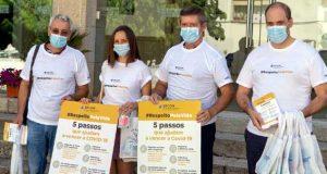 """Pampilhosa da Serra: Campanha de sensibilização """"Respeito pela Vida"""" visitou Feira Municipal"""