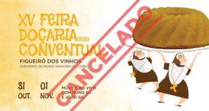 Cancelada a XV Feira de Doçaria Conventual de Figueiró dos Vinhos