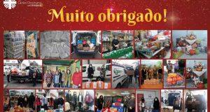 Generosidade da comunidade permitiu à Cáritas de Coimbra entregar 230 cabazes de Natal