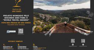 """Fragas de São Simão – Projeto nomeado para o """"World Travel Awards"""" pelo segundo ano"""